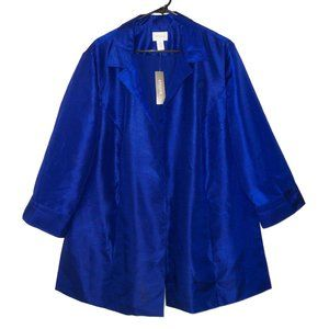 NWT Chico's 4 20 Sophisticated Topper Jacket Coat